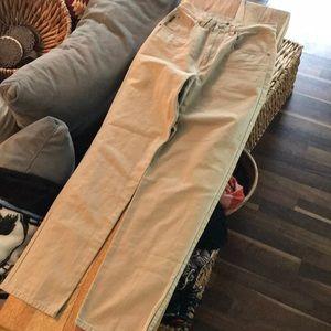 Lauren Ralph Lauren high waisted tan jeans